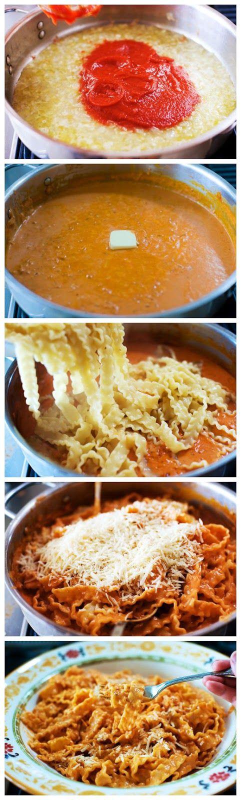 toptenlook: Pasta Alla Vodka | food love | Pinterest