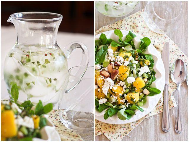 Mango, Celery and Goat Cheese Salad | Recipe