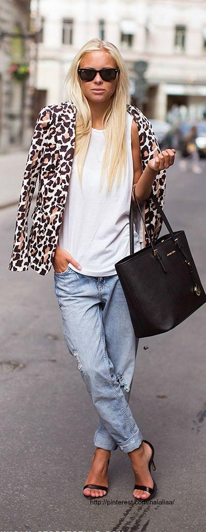Street style ♥ MICHAEL KORS BAG