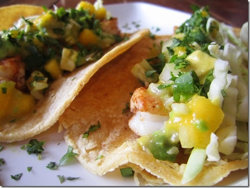 Shrimp Tacos with Mango Avocado Salsa | To Eat: From the Water | Pint ...