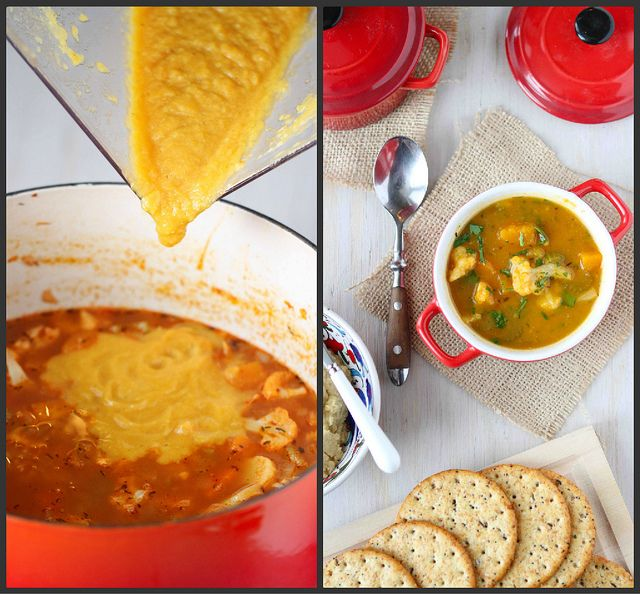 Winter Vegetable Soup Recipe with Butternut Squash & Cauliflower | Re ...