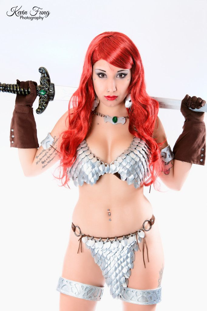 Rosanna Rocha as Red Sonja (cosplay) © Kevin Fung Photography