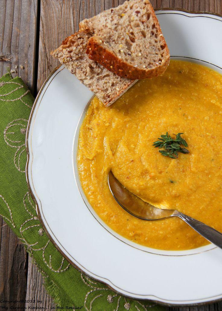 Yellow split pea soup with bacon | Bon Appetit | Pinterest