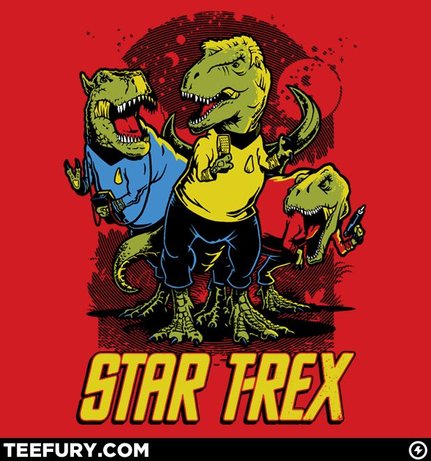 Star T-Rex from teefury.com @George Takei?