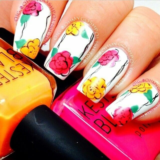 The Excellent Yellow nails on pinterest Image