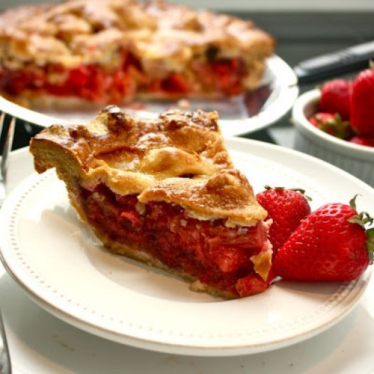 Strawberry rhubarb pie is my favorite. My grandmother used to make ...