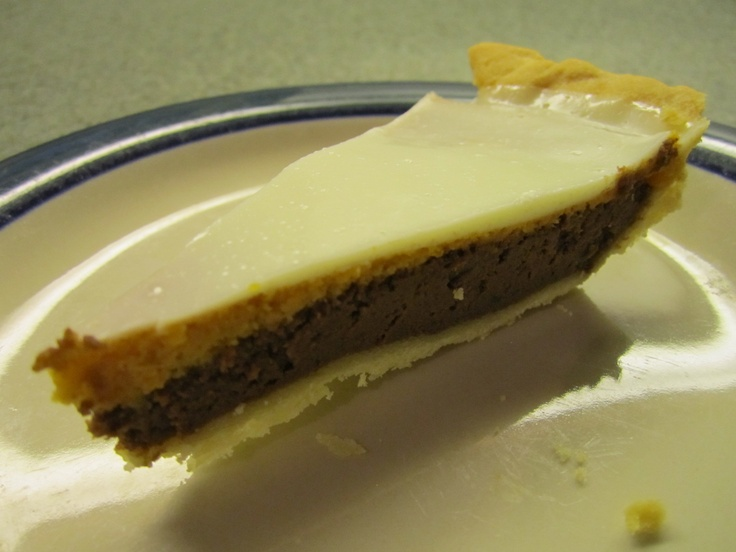 Triple Layer Chocolate Pumpkin Pie. All the love of pumpkin and ...