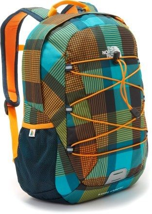 Got an outdoor adventurer?  This backpack from The North Face can go from classroom to trail.  And it's sized especially for kids.  Also available in solids (bright green or blue), a camo-like print (green/yellow or pink/black) or an aqua plaid.