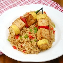 Citrus Tofu Kebabs by Healthiersteps | Gourmet,no tan gourmet,postres ...