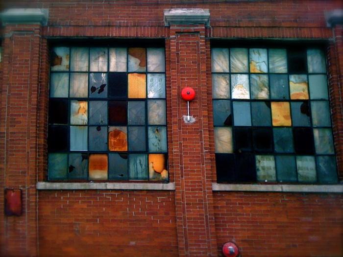 Warehouse windows brick industrial pinterest for Window scrollto