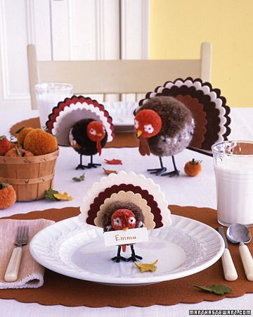 Thanksgiving Table Setting DIY