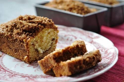 Mini Cinnamon Coffee Cakes as Holiday Gifts