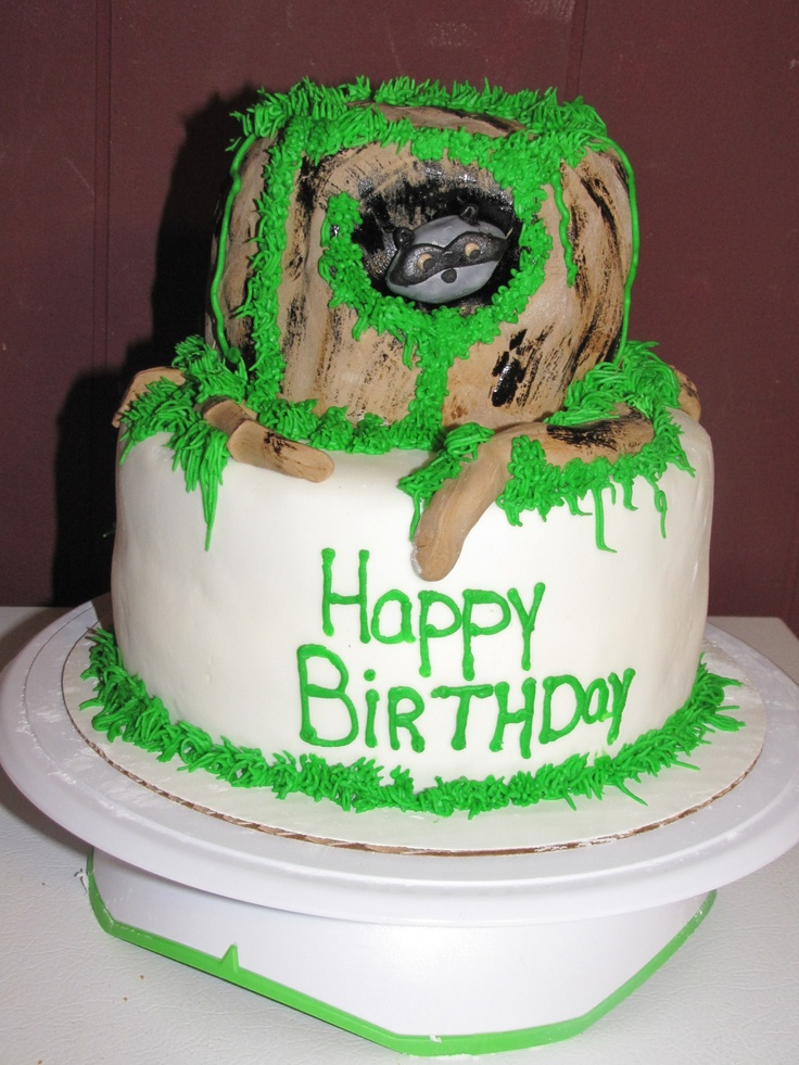 coon hunting birthday cakes