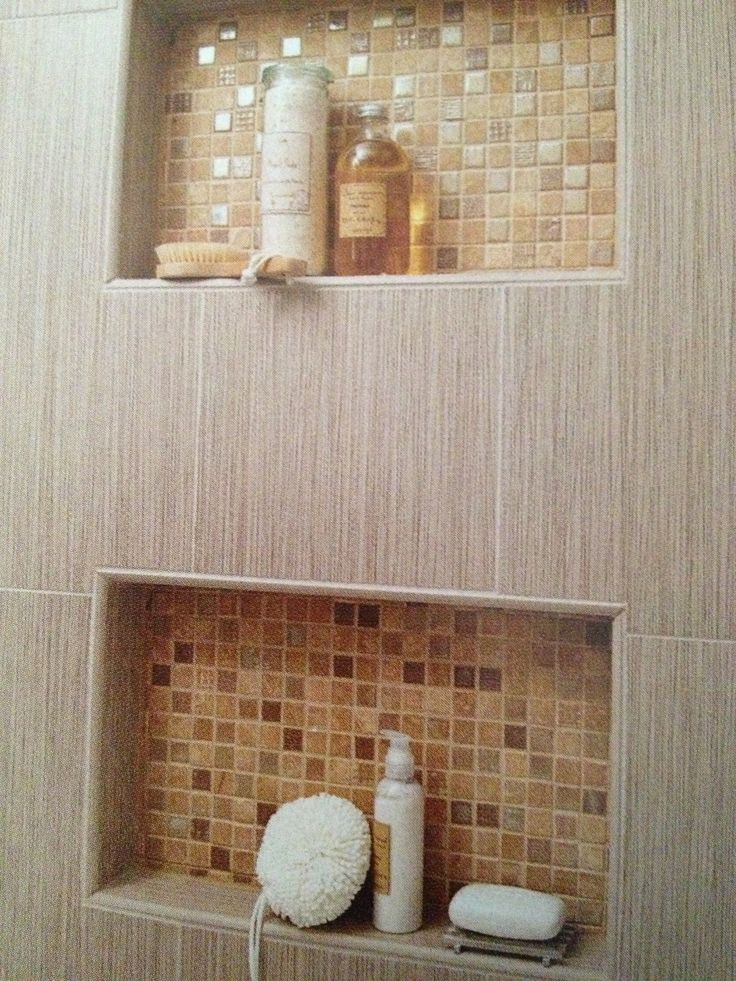 built in shower shelving outhouse reno pinterest. Black Bedroom Furniture Sets. Home Design Ideas