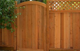 simple wooden garden gate design Outdoor Ideas Pinterest