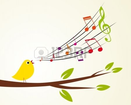 Floral Background With Music Notes Royalty Free Cliparts, Vectors ...: pinterest.com/pin/96616354480417514