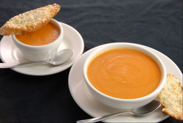 Recipe: Nordstrom's Tomato and Basil Soup and Parmesan-Garlic ...