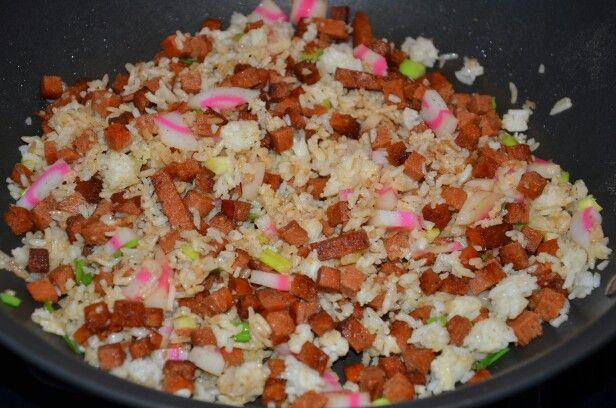Spam Chorizo Fried Rice | Food | Pinterest