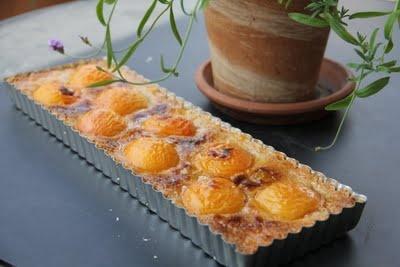 apricot almond tart | Food | Pinterest