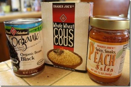 Peach Salsa Couscous | Healthy - recipes & tips | Pinterest