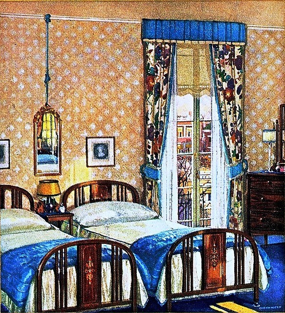 1920 39 s bedroom 1915 to 1929 interior decorating pinterest for 1920s interior decoration