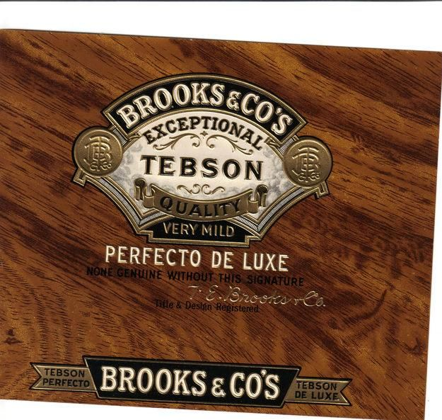 brooks and co | cigar boxes | Pinterest