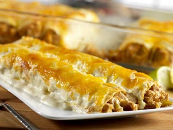 Turkey Enchiladas | KitchenDaily.com