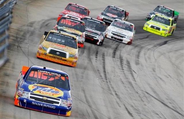 nascar camping world truck series dirt race