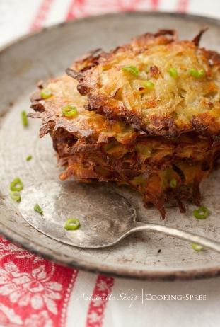 Crispy Potato Cakes   Super Side Dishes   Pinterest