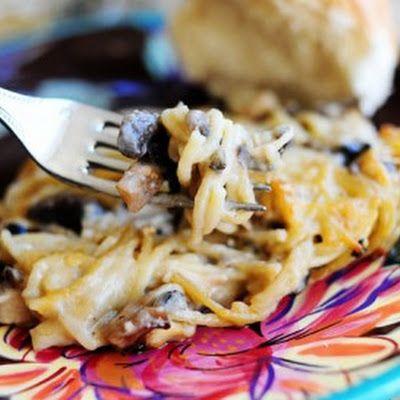 Creamy Chicken Spaghetti Casserole | FOOD - side dishes | Pinterest