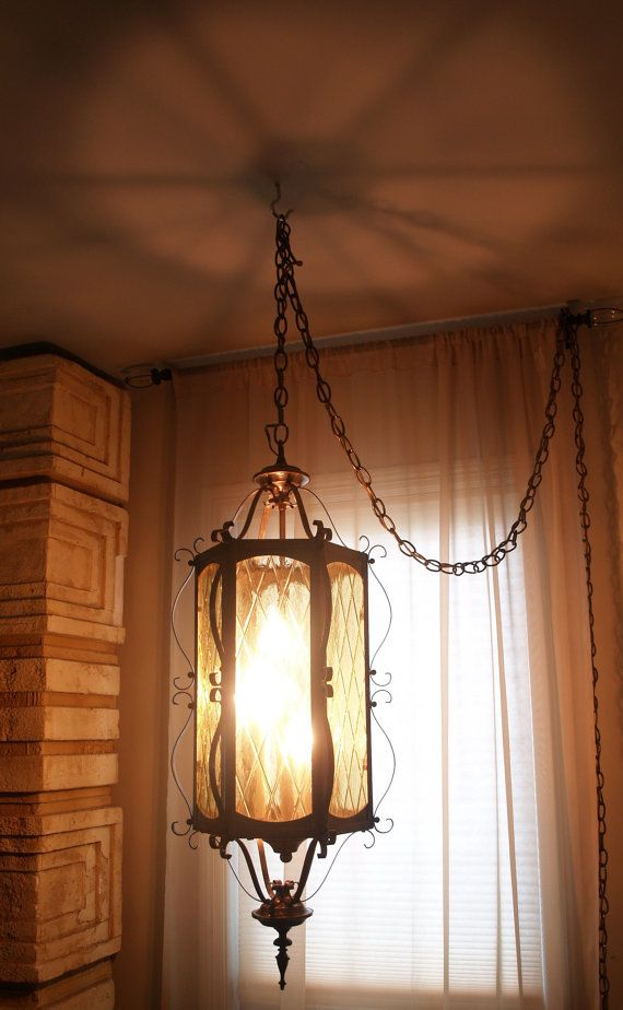 Beautiful 60s vintage hanging lamp mid century mood lighting modern b - Eigentijdse hangerlamp ...