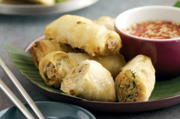 Cha gio (vietnamese spring rolls) | Asian Dinner Party Ideas and reci ...