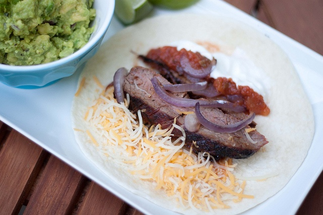 Chile-Spiced Steak & Grilled Onion Tacos | Main Dishes | Pinterest
