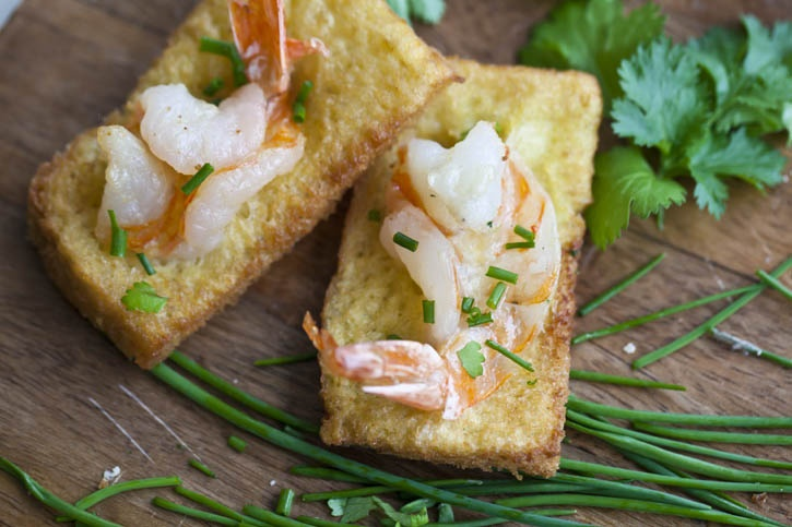 Shrimp Toast! Love these so delicious and super easy appetizers!