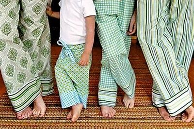 PJ pants tutorial.   Cute to match for christmas