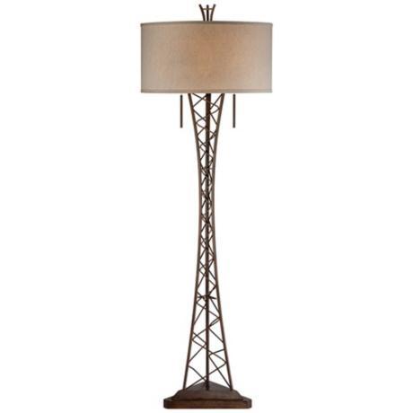 eiffel floor lamp from lamps plus fantastic floor lamps pinterest. Black Bedroom Furniture Sets. Home Design Ideas