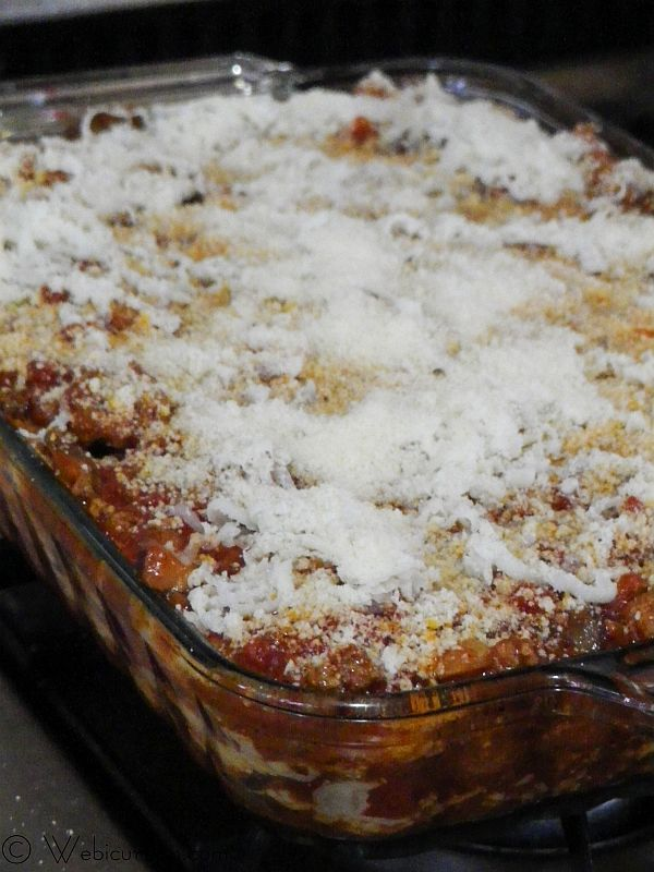 Three Cheese Lasagna with Meat Sauce | Recipe