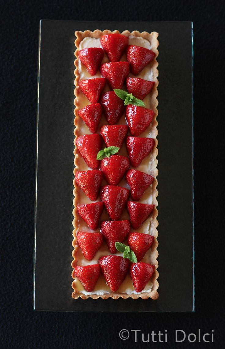 Strawberry-Mascarpone Tart | Tutti Dolci