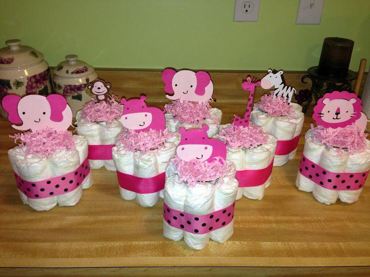 Diaper cakes centerpieces cake ideas and designs
