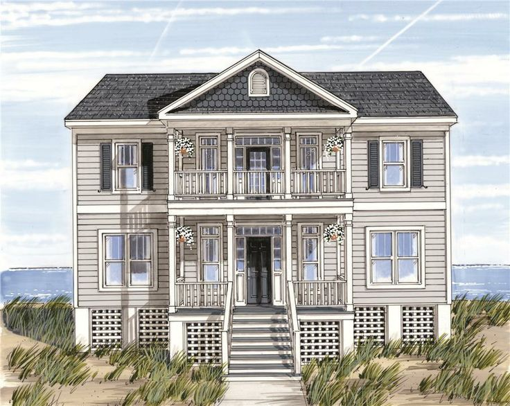 Pin by deborah bonnar on beautiful house plans pinterest for Narrow lot modular homes