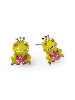 Frog Earrings Pennys Princess And The F R O G Party Pinterest