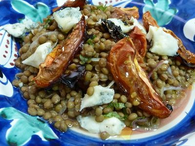 ... tomatoes and Gorgonzola. These lentils from Castelluccio in Umbria are