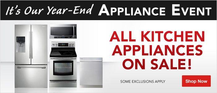 All Kitchen Appliances On Sale Announcements Sales Events Pinte