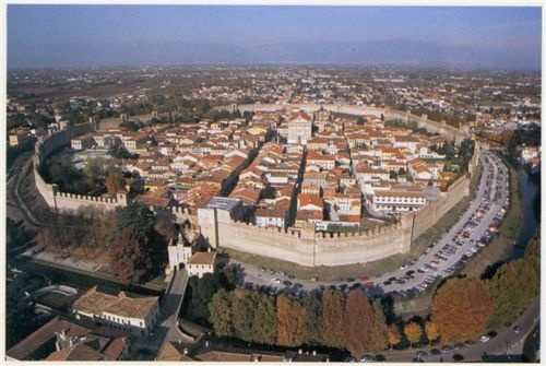 Citadella Italy; walled city in the province of Padua