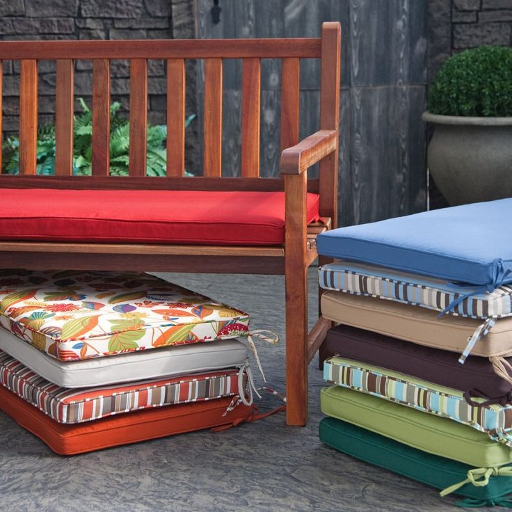 Outdoor Cushions For Diy Bench Sewing Pinterest