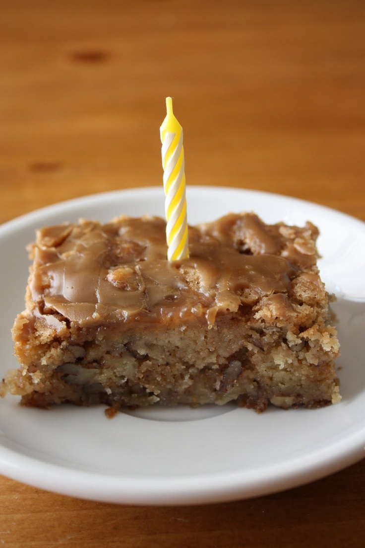 Apple Spice Cake With Brown Sugar Glaze Recipe — Dishmaps