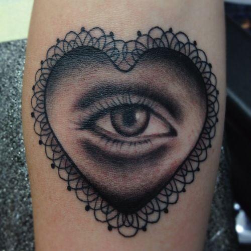eye in heart
