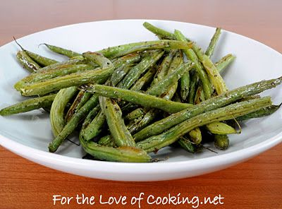 Roasted Green Beans | Daniel fast recipes | Pinterest