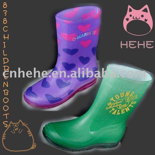 Fashion Children Pvc Rain Boots - Buy Pvcchildren Rain Boot,Pvc