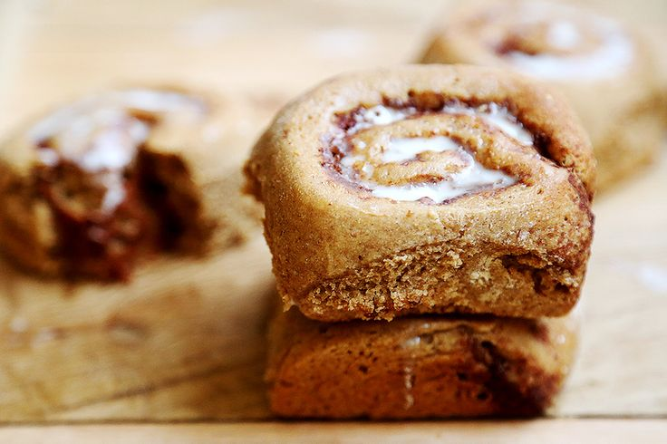 Whole Wheat Vegan Cinnamon Rolls | Sweet Breads & Muffins | Pinterest